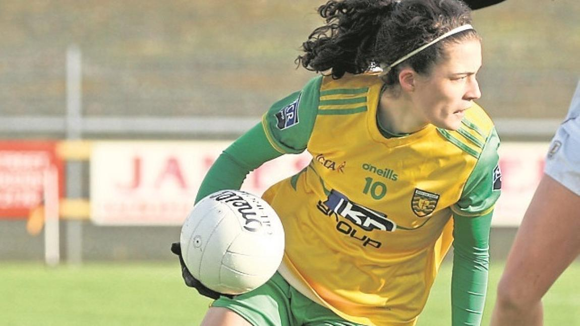 HALF-TIME IN BALLYSHANNON: Donegal Ladies a point to the good against Cork