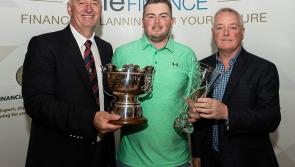 Rafferty wins third One Finance Scratch Cup in four years at Dundalk Golf Club