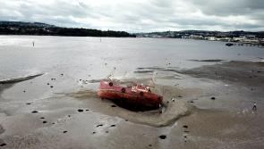 Famous boat stuck in the River Foyle in Derry since August could be there for some time yet