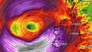 Mayday! Model shows storm tracking to hit Ireland next week