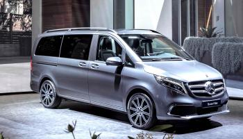 The new facelift V-Class MPV