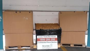 Multi-million euro haul of tobacco labelled as 'printing paper' seized entering Ireland