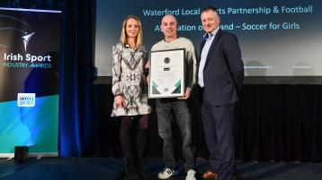 Waterford Sports Partnership and FAI pick up national award