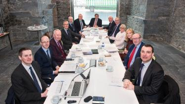 WATCH: 'Up, up and away' - Limerick's Gardens International hosts first meeting