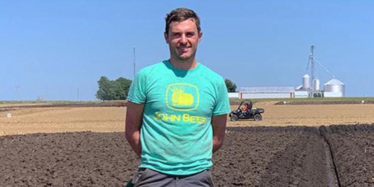From California to Iowa - Tipperary man digs deep for success in America!